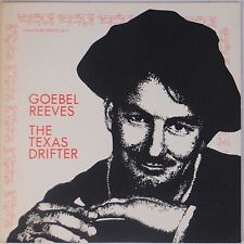 GOEBEL REEVES: Texas Drifter GLENDALE Vinyl LP NM- 1978 Scarce