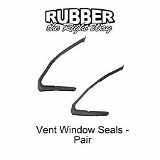 1964 1965 1966 Ford Thunderbird Vent Window Seals Pair