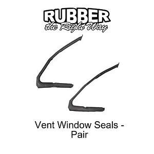 1964 1965 1966 Ford Thunderbird Vent Window Seals Pair