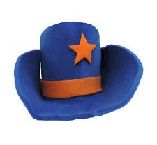 Foam Cowboy Hat Western 30 Gallon Big Large Giant Huge Jumbo Costume Hat BLUE