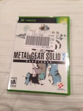 Metal Gear Solid 2 Substance XBOX BRAND NEW rare OOP