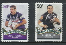 Australian Stamps: 2008 Centenary of Rugby League - Lot 4,  2 Values P&S - Used