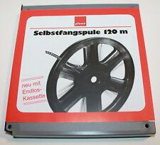 120 m SUPER 8, SINGLE8, NORMAL8  FILM SELBSTFANGSPULE MIT BOX NEU OVP !!!!!