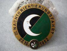 Adac Nachtorientierungsfahrt Plakette Emblem Accessoires & Fanartikel