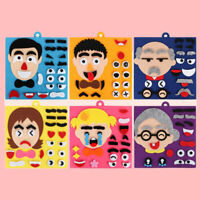 DIY Emotion Change Puzzle Toys Creative Facial Expression Kids Educational To YK