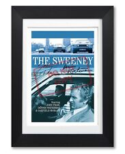 THE SWEENEY CAST SIGNED POSTER PRINT BRITISH TV SHOW SEASON PHOTO AUTOGRAPH GIFT