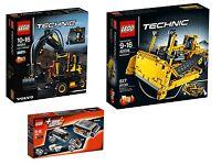 LEGO® Technic 42053+8293+42028 Volvo EW160E +Power Functions+Bulldozer NEU NEW