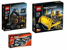 LEGO ® Technic 42053+8293+42028 VOLVO ew160e + Power Functions + Bulldozer NUOVO NEW