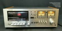 Sharp RT-1155 WORKING & REFURBISHED Vintage Cassette Tape Deck 1970s Woodgrain