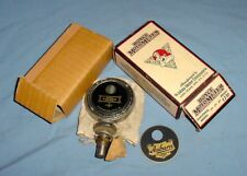 NOS Motometer With Auburn Emblem Badge Radiator Cap Mascot 1920's Vintage Car