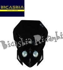 8408 - MASCHERINA FARO FANALE ANTERIORE E.T. SENZA LED CARBON LOOK ENDURO