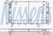 Nissens 63650 Radiatore per Peugeot 505 (79
