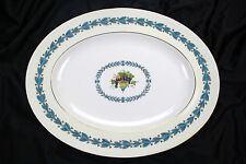 "WEDGWOOD  APPLEDORE  OVAL SERVING PLATTER 13"" EXCELLENT CONDITION"