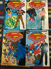 Superman 'The Man Of Steel' 1986 issues 1-4