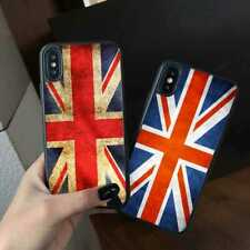 UK England British Flag Silicone Phone Cover Case for iPhone Samsung Huawei