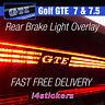 VW Golf GTE MK7 / MK7.5 Rear Middle High Brake Light Logo Vinyl Decal Sticker