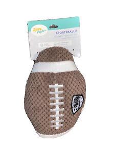 ZippyPaws -  Sportsballz Football - Squeaky Dog Toy