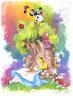 Disney Fine Art Limited Edition Canvas Dreaming-Alice In Wonderland-St. Laurent
