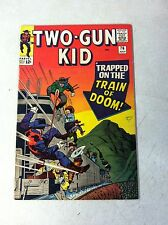 TWO GUN KID #76 WESTERN, STAN LEE, AYERS, TRAIN OF DOOM, 1965, KIRBY