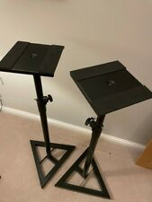 Studiospares Triangle Base Monitor Stands - Pair - Used, in great condition
