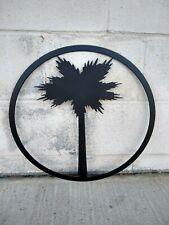 Palm Tree Metal Art Sign