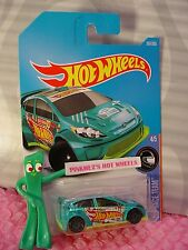 '12 FORD FIESTA #307☆Teal Green; gray 10sp☆RACE TEAM☆2017 i Hot Wheels☆Case N