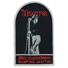 The Doors Iron On Patch Sew Jim Morrison Music Rock Band 60s 70s Retro Vintage