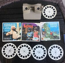 Vintage View Master Lot Batman Historical Animals Washington Mary Poppins