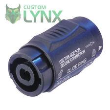 More details for neutrik nl4mmx speakon coupler speaker joiner - join two loud speaker cables pro