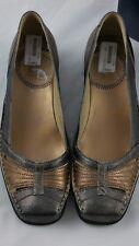 Damen Schuhe Gr. 41  - Romika  Jackie Pumps graphit - kombi Glitzer Leder