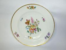 Assiette en porcelaine avec fin peinture de fleur kpm- Berlin 19 JH