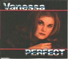 VANESSA Skinner PERFECT 4TRX MIXES & EDIT EUROPE CD single SEALED US Seler SEALD
