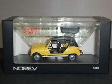 NOREV 510045 RENAULT 4L PLEIN AIR YELLOW DIECAST MODEL CAR