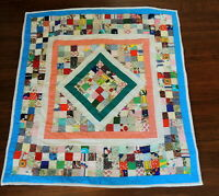 Handmade Baby Quilt Lancaster AMISH Country Pa Wall Hanging Throw Blanket