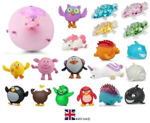 ANIMAL BALLOON BALLS Inflatable Farm Blowup Squeeze Bouncing Ball Kids Gift UK