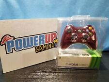 Xbox 360 Chrome Series Wireless Controller Red (Sealed)