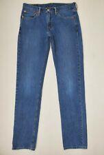 Levis 511 Denim Blue Jeans Mens Size 36x34 Slim Fit Tapered
