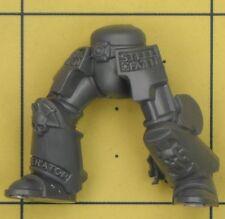 WARHAMMER 40K Space Marines CAVALIERI GRIGI TERMINATOR gambe (C)