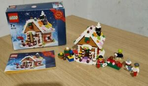LEGO GINGERBREAD HOUSE 40139 LIMITED ED. Complete.  With extras. Christmas.