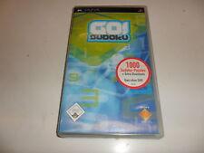 PlayStation Portable PSP  Go! Sudoku