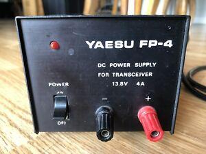 Yaesu FP-4 4A 4 Amp Power Supply