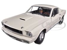 1965 FORD SHELBY MUSTANG GT350R PROTOTYPE WHITE 1/24 BY M2 MACHINES 40300-44A