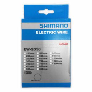New Shimano EW-SD50 Electric Wire Di2 E-tube Systems Electronic Bike Black 800mm