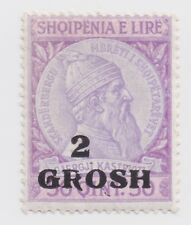 1914 Albania - Skanderbeg Issue - 2/50 Gr/Q Stamp