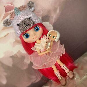 👧🏼 ~ Adopt ~ Moschino Middie BLYTHE DOLL &  Vintage Blythe Doll Toy ~ 👧🏼