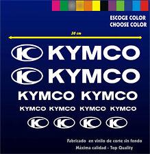 KIT PEGATINAS STICKERS VINILO KYMCO STICKER - Moto - Vinyl - Aufkeber - Adhesivi