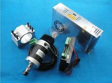 400W Air cooled Spindle motor + BLDC Motor controller + Motor Power+Mount 48VDC