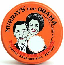 MURRAY'S (MURRAYS) SUPERIOR HAIR DRESSING POMADE LIMITED EDITION OBAMA  3 OZ.
