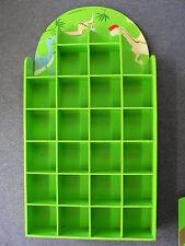 tolles Dinosaurier Regal grün 50 x 93 x 12,5 cm mit Schrägständer Dino gebraucht