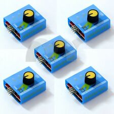 5 PCS ESC / Servo tester 3 Channels CCPM Meter Checker 4.8-6V